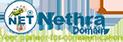 Nethra Domain name logo